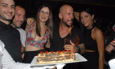 Άρης Λουμάκης: Γιόρτασε τα γενέθλια του στον Κιάμο