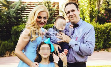 Έλενα Πολυκάρπου: Το φωτογραφικό άλμπουμ της βάφτισης του γιου της