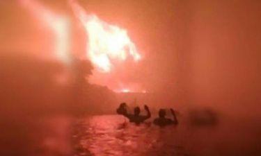 Φωτιά Μάτι: Αυτό είναι το πιο σοκαριστικό βίντεο από την πυρκαγιά