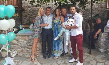 Γιώργος Αγγελόπουλος: Από το Μάτι στη Σκιάθο για τη βάπτιση του ανιψιού του! Οι πρώτες φωτογραφίες!