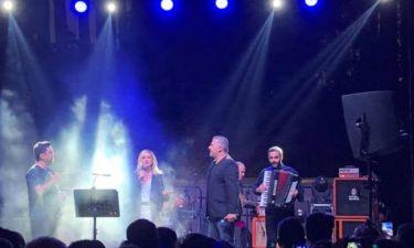 Βίσση – Ρέμος: Η συναυλία για τους πυρόπληκτους στην Κύπρο και τα συγκινητικά λόγια του Θεοφάνους