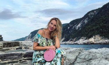 Χριστίνα Αλούπη: Ποζάρει στον τέταρτο μήνα της εγκυμοσύνης της