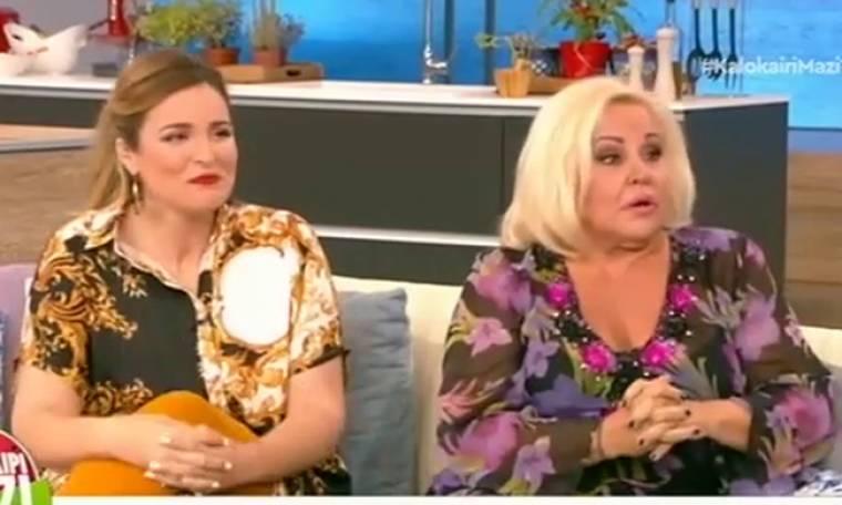 Μπέσυ Αργυράκη: Τι αποκάλυψε για το ατύχημά της επί σκηνής