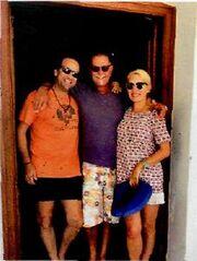 Ελένη Μενεγάκη: Με τα παιδιά της και τον Μάκη διακοπές στα Κουφονήσια