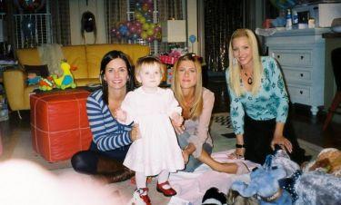 Αυτές είναι η Έμμα, η κόρη του Ρος και της Ρέιτσελ