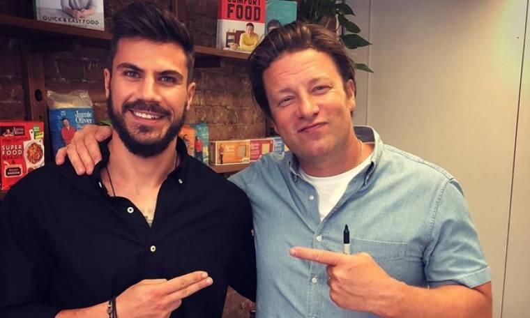 Άκης Πετρετζίκης: Η συνάντησή του με τον Jamie Oliver