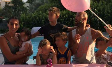 Σπανούλης-Χοψονίδου: Η κόρη τους Αιμιλία έγινε τριών ετών