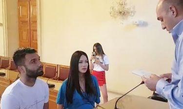 Τζαβέλλας-Πικράκη: Just Married! Οι πρώτες φωτογραφίες από τον πολιτικό τους γάμο!