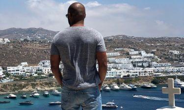 Ένας από τους πιο sexy άνδρες του Hollywood ήρθε στην Ελλάδα