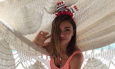 Όλγα Φαρμάκη: Γιόρτασε τα γενέθλιά της στην παραλία