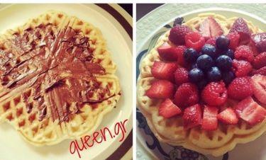 Οι απόλυτες Belgian Waffles !!!
