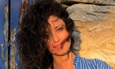 Δωροθέα Μερκούρη: Απολαμβάνει το καλοκαίρι στα ελληνικά νησιά