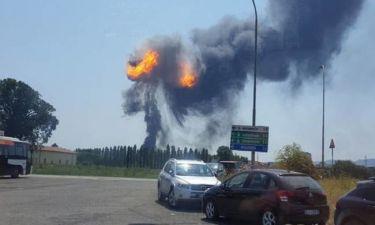 Ιταλία: Μεγάλη έκρηξη κοντά στο αεροδρόμιο της Μπολόνια (pics+vid)
