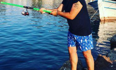 Πήγε να ψαρέψει αλλά δεν έπιασε ούτε ένα ψάρι!