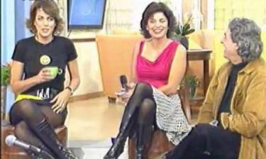 Όταν η Βαγιάνη έκανε πρωινή εκπομπή με την Τσαπανίδου στην ΕΡΤ