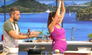Ο Τσούλης φτιάχνει γαλακτομπούρεκο και η Ράλλη χορεύει τσιφτετέλι!