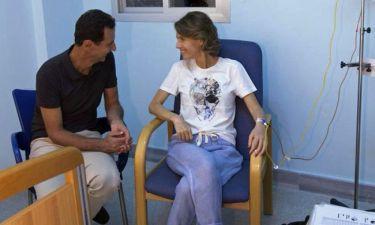 Διαγνώστηκε με καρκίνο η πρώτη κυρία της Συρίας