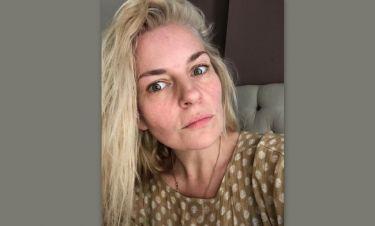 Ελισάβετ Μουτάφη: Έτσι είναι το πρόσωπό της χωρίς μακιγιάζ