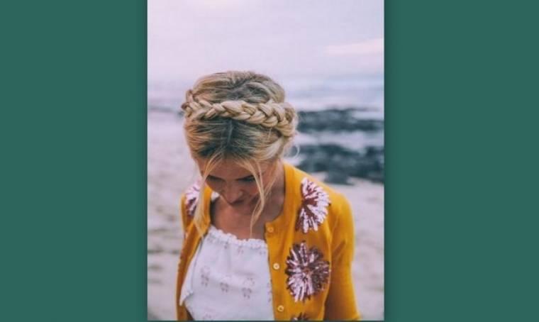 Braided crown hair: Πώς να κάνεις μόνη σου το πιο ρομαντικό χτένισμα