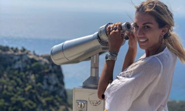 Κωνσταντίνα Σπυροπούλου: Το φωτογραφικό άλμπουμ των διακοπών της στην Ρόδο