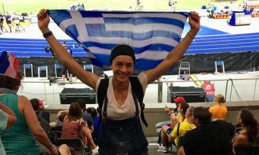 Γιούλικα Σκαφιδά: Πανηγυρίζει τις ελληνικές επιτυχίες στον Βερολίνο
