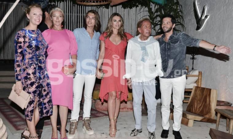 Elizabeth Hurley-Valentino: Διασκέδασαν και στην Αθήνα