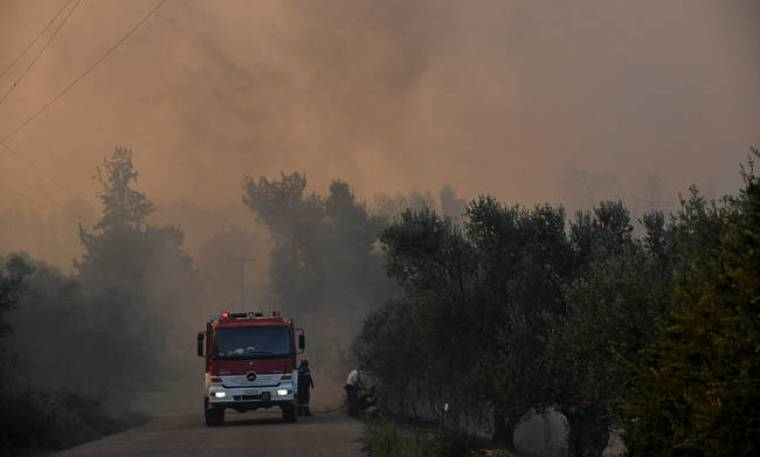 Φωτιά: Ολονύχτια μάχη με τις φλόγες στην Εύβοια - Μαίνεται σε τρία μέτωπα η πυρκαγιά (pics+vids)