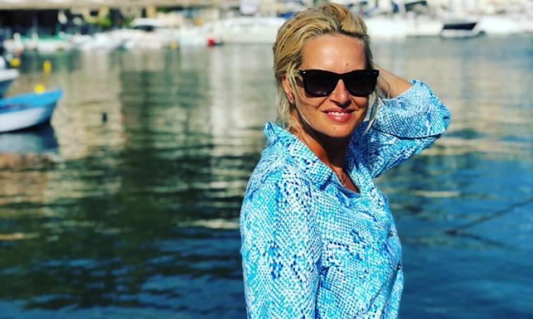 Μαρία Μπεκατώρου: Η πιο αυθόρμητη φωτό της με μαγιό στην παραλία