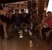 Παπαργυρόπουλος - Σαλταφερίδου: Οι πρώτες κοινές φωτο μετά την είδηση της σχέσης τους