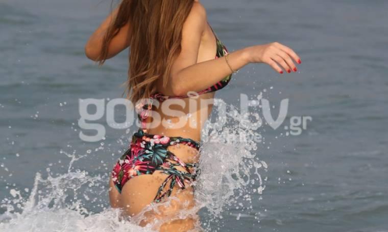 Στέλλα Γιαμπουρά: Έδωσε μάχη με τα κύματα
