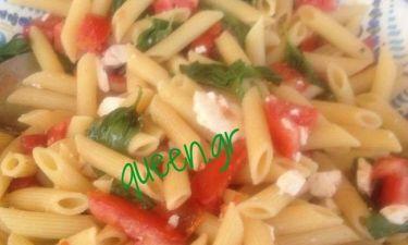 Η πιο εύκολη,νόστιμη & δροσερή καλοκαιρινή pasta.(Γράφει η Majenco αποκλειστικά στο Queen.gr)