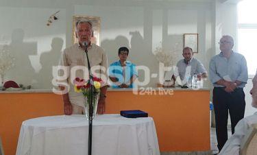 Ο Δήμος Γορτυνίας τίμησε τον Κώστα Γαβρά