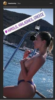 Προκαλεί η Ρία Αντωνίου. Οι γυμνές φωτογραφίες της στο instagram