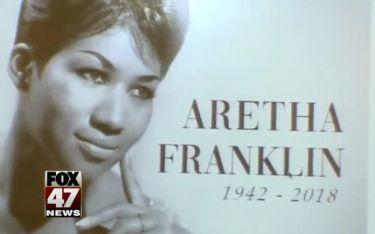 Αφιέρωμα σε εκκλησία του Ντιτρόιτ για την Aretha Franklin
