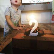 Ο γιος της παρουσιάστριας έγινε δύο ετών
