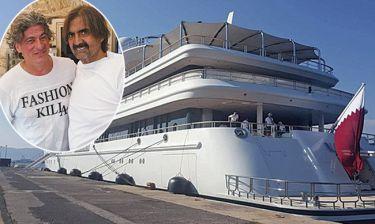 Ο πρώην εμίρης του Κατάρ αγόρασε ψάρια στην Κέρκυρα