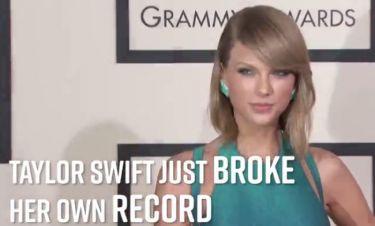 Το απίστευτο ρεκόρ της Taylor Swift