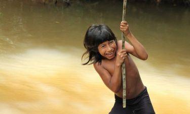 Drone αποκάλυψε άγνωστη φυλή του Αμαζονίου