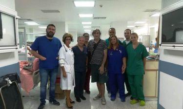Άκης Σακελλαρίου: Το μήνυμα ευγνωμοσύνης στους γιατρούς και στους νοσηλευτές που τον φρόντισαν