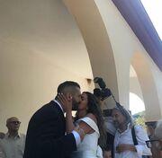 Κατερίνα Στικούδη - Βαγγέλης Σερίφης: Νέες φωτογραφίες από το γάμο τους