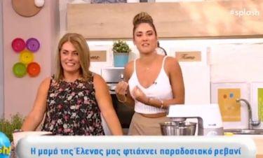 Έλενα Κρεμλίδου: Η πιο τρυφερή στιγμή της παρουσιάστριας - Μαγείρεψε on air με τη μαμά της