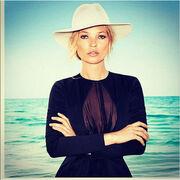Kate Moss: Ινκόγκνιτο στην Κέρκυρα