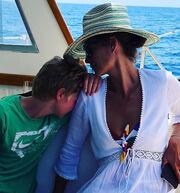 «Μυστικές» διακοπές στην Πάτμο για γνωστό top model
