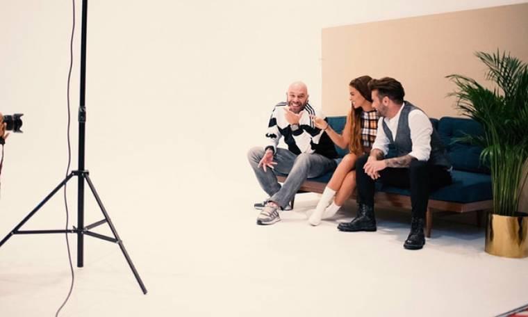 «La banda»: Backstage από την φωτογράφηση των κριτών