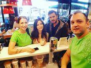 Tσιμιτσέλης-Γερονικολού:Aυτή είναι η πρώτη κοινή φωτογραφία από τις διακοπές τους