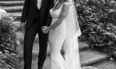 Γνωστή ηθοποιός παντρεύτηκε και αυτές είναι οι πρώτες φωτογραφίες από το γάμο της