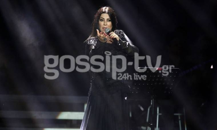 Άντζελα Δημητρίου: Η βροχή χάλασε την συναυλία της στο Βεάκειο