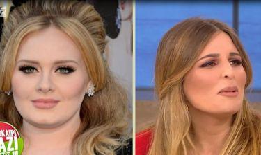 Εβελίνα Νικόλιζα: Η απίστευτη ομοιότητα με την Adele και το τρολάρισμα