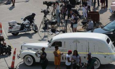 Aretha Franklin: Φωτογραφίες από την κηδεία της