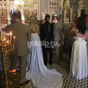 Παντρεύτηκε ο Στέφανος Κωνσταντινίδης με θρησκευτικό γάμο και βάπτισε τον γιο του στην Τήνο (φωτο)